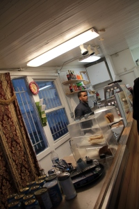 Inside Juba Cafe
