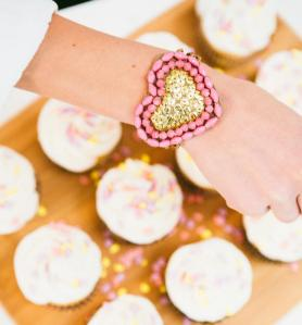 Bits of Love: Sweetheart bracelet crafted from paper beads in Uganda