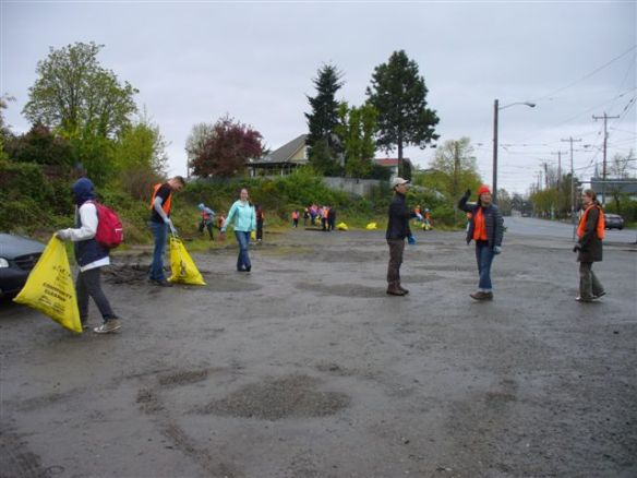 Cleaning Hillman City