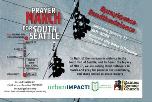 prayer march flyer